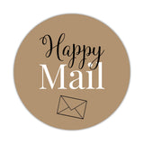 Happy mail stickers 'Elegant Envy' - Sand - Dazzling Daisies