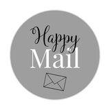 Happy mail stickers 'Elegant Envy' - Silver - Dazzling Daisies