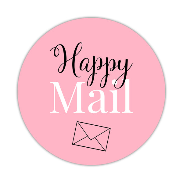 Happy mail stickers 'Elegant Envy' - Pink - Dazzling Daisies