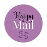 Happy mail stickers 'Elegant Envy' - Plum - Dazzling Daisies