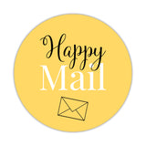 Happy mail stickers 'Elegant Envy' - Yellow - Dazzling Daisies