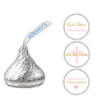 Hershey kiss stickers communion 'Basic Beauty' - Gold/Pink - Dazzling Daisies