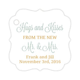 Hugs and kisses tags - Gold/Sage - Dazzling Daisies