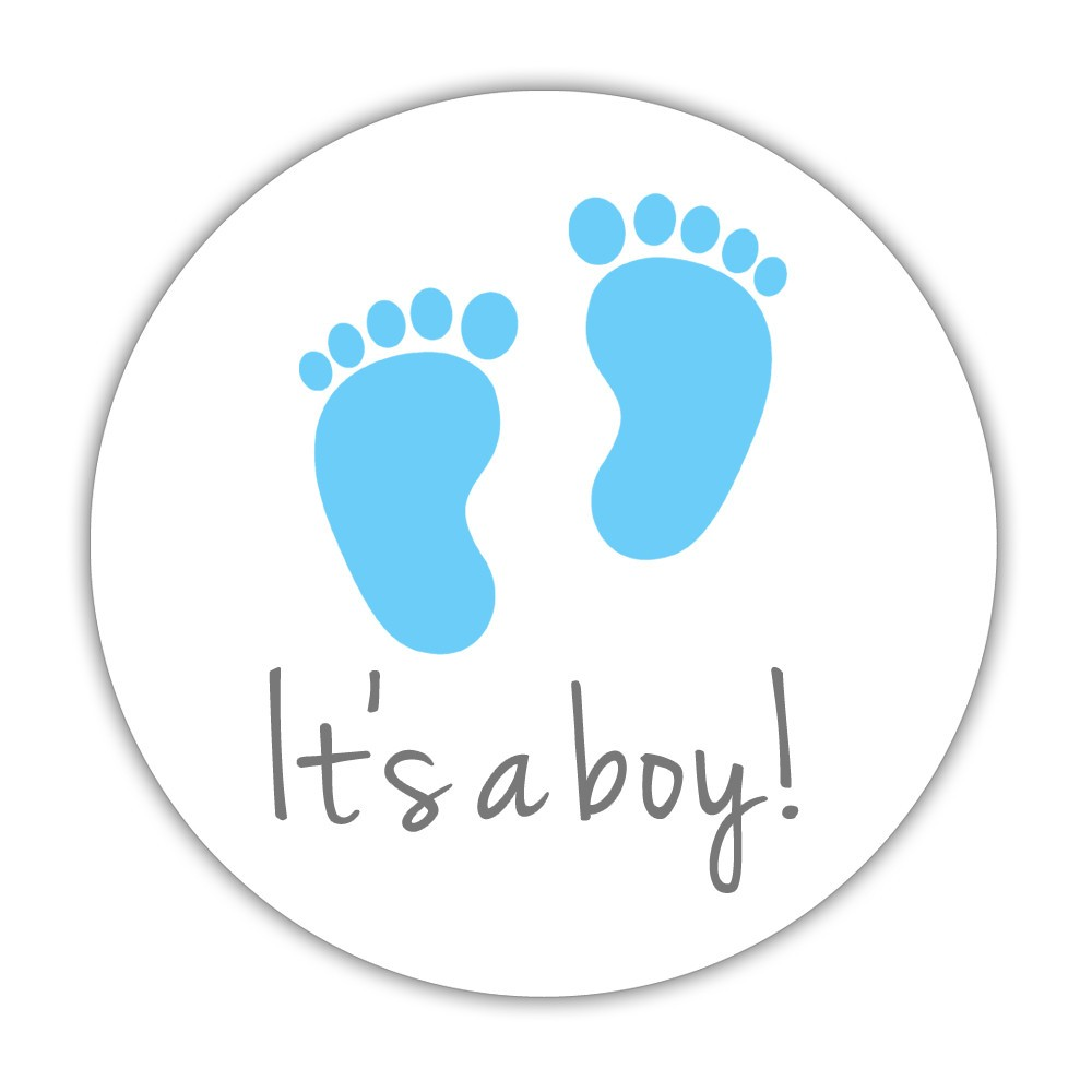 its a girl stickers gender reveal party stickers