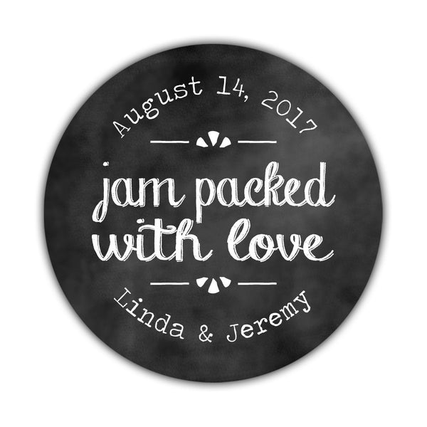 Jam packed with love stickers 'Charming Chalk' -  - Dazzling Daisies