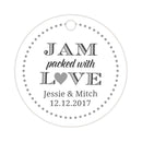 Jam packed with love tags - Silver - Dazzling Daisies
