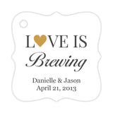 Love is brewing tags - Gold - Dazzling Daisies