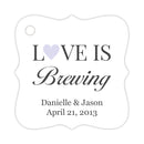 Love is brewing tags - Lavender - Dazzling Daisies