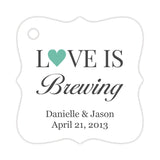 Love is brewing tags - Ocean - Dazzling Daisies