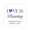 Love is brewing tags - Royal blue - Dazzling Daisies