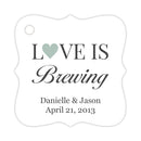 Love is brewing tags - Sage - Dazzling Daisies