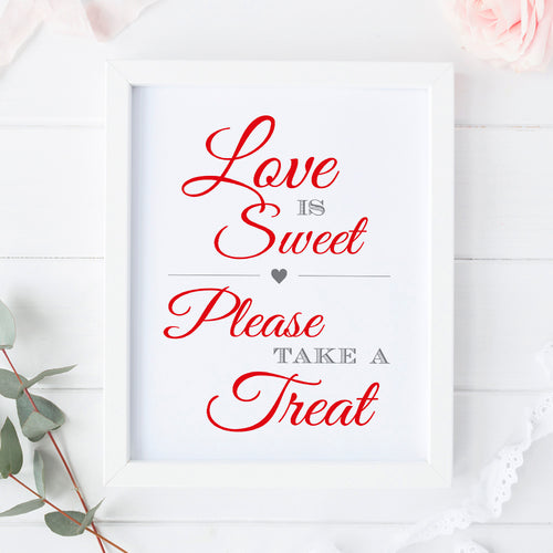 Love is sweet sign -  - Dazzling Daisies
