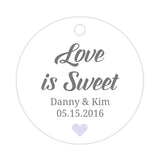 Love is sweet tags - Lavender - Dazzling Daisies