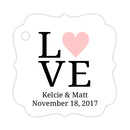 Love tags - Blush - Dazzling Daisies