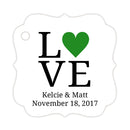 Love tags - Green - Dazzling Daisies