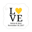 Love tags - Yellow - Dazzling Daisies