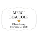 Merci beaucoup tags - Gold - Dazzling Daisies