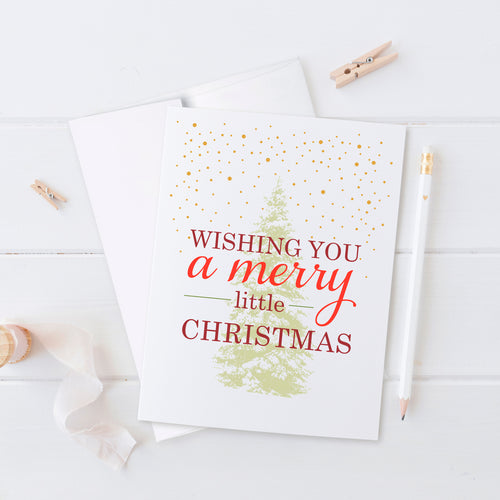 Christmas cards 'Starry Pine' -  - Dazzling Daisies