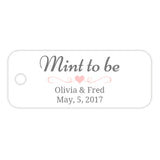 Mint to be tags - Blush - Dazzling Daisies