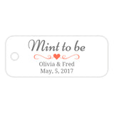 Mint to be tags - Coral - Dazzling Daisies
