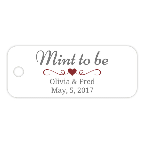 Mint to be tags - Maroon - Dazzling Daisies