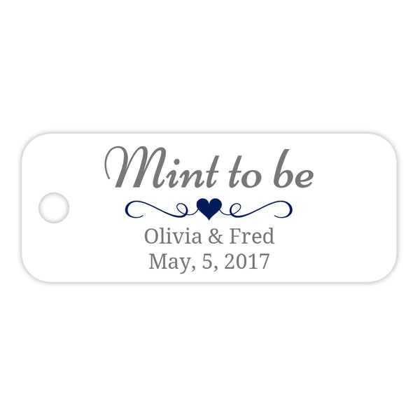 Mint to be tags - Navy - Dazzling Daisies