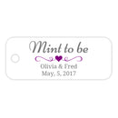 Mint to be tags - Purple - Dazzling Daisies