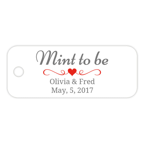 Mint to be tags - Red - Dazzling Daisies