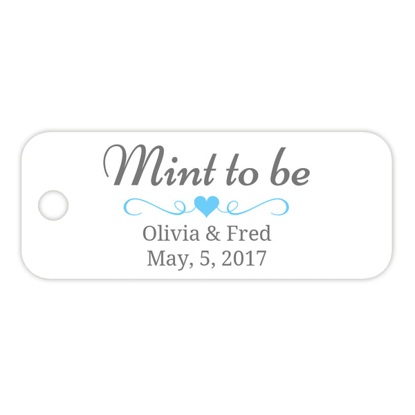 Mint to be tags - Sky blue - Dazzling Daisies