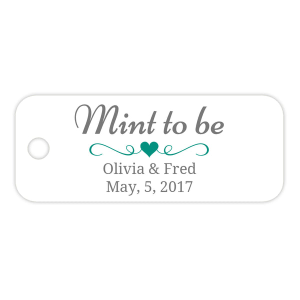 Mint to be tags - Teal - Dazzling Daisies