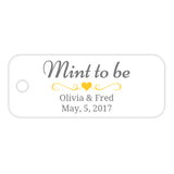 Mint to be tags - Yellow - Dazzling Daisies