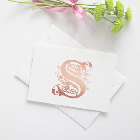 Floral note cards 'Sweet Pastels'