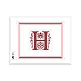 Monogram note cards 'Ornate Overload' -  - Dazzling Daisies