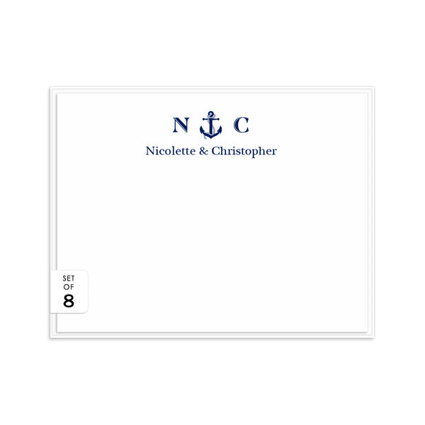 Nautical note cards -  - Dazzling Daisies