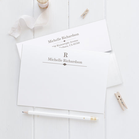 Foil note cards 'Archery'