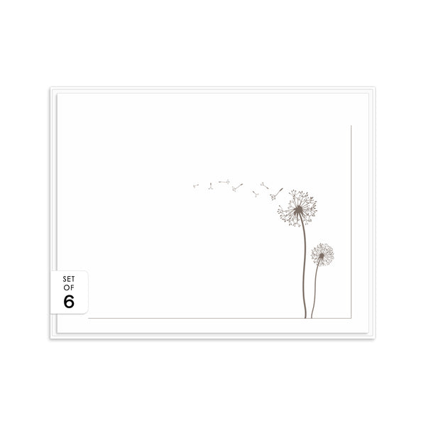 Note cards 'Dandelion Delight' -  - Dazzling Daisies