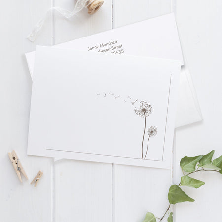 Note cards 'Perfect Poppy'