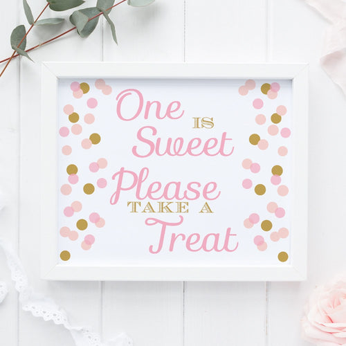 One is sweet sign -  - Dazzling Daisies