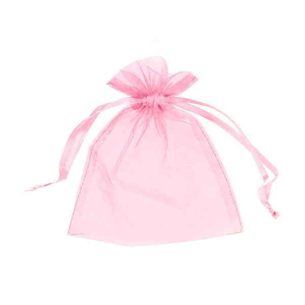 "Organza bags 3"" x 4"" - Pink - Dazzling Daisies"