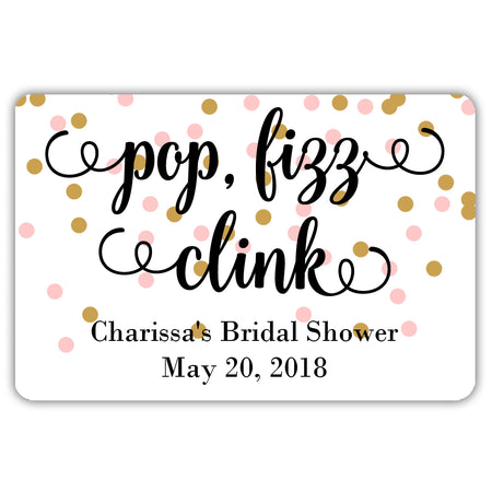 Wedding Hershey kiss stickers