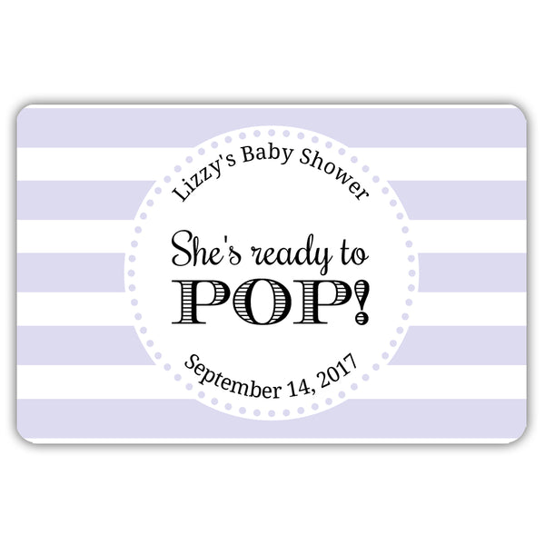 Ready to pop stickers 'Popping Stripes' - Lavender - Dazzling Daisies