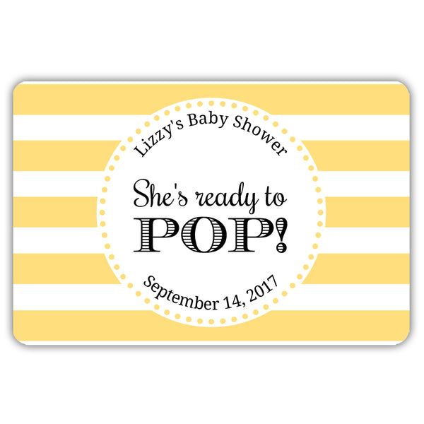 Ready to pop stickers 'Popping Stripes' - Sunrise - Dazzling Daisies