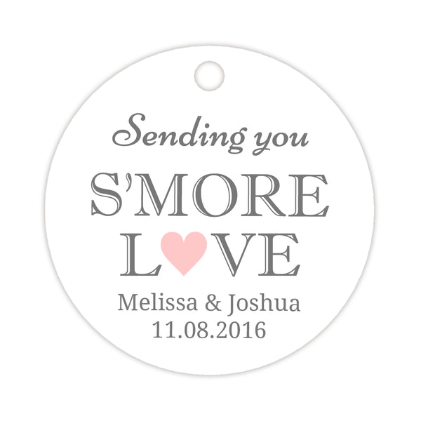 S'more love tags - Blush - Dazzling Daisies