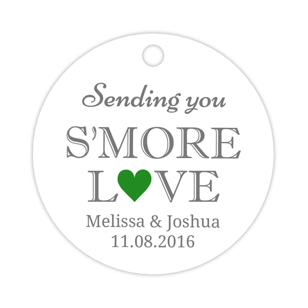 S'more love tags - Green - Dazzling Daisies