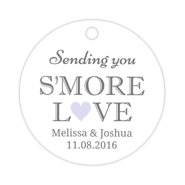 S'more love tags - Lavender - Dazzling Daisies