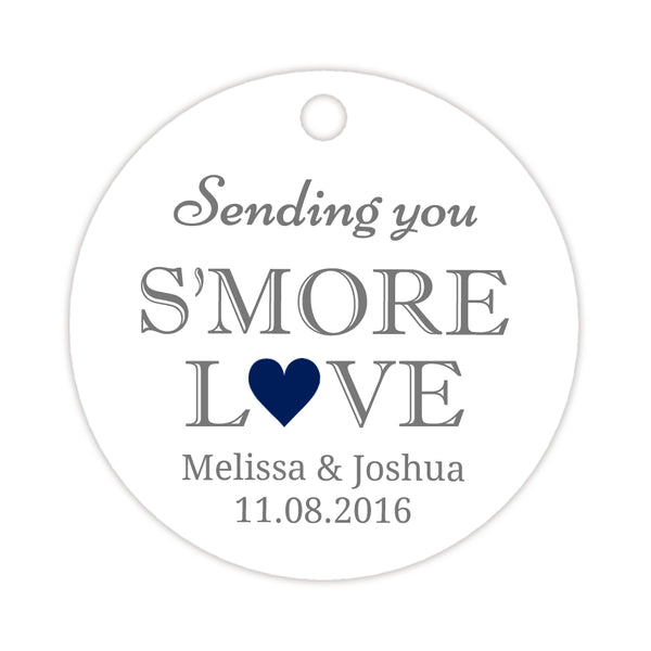 S'more love tags - Navy - Dazzling Daisies