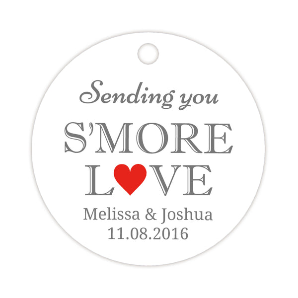 S'more love tags - Red - Dazzling Daisies