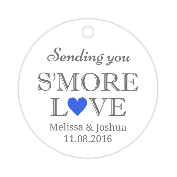 S'more love tags - Royal blue - Dazzling Daisies