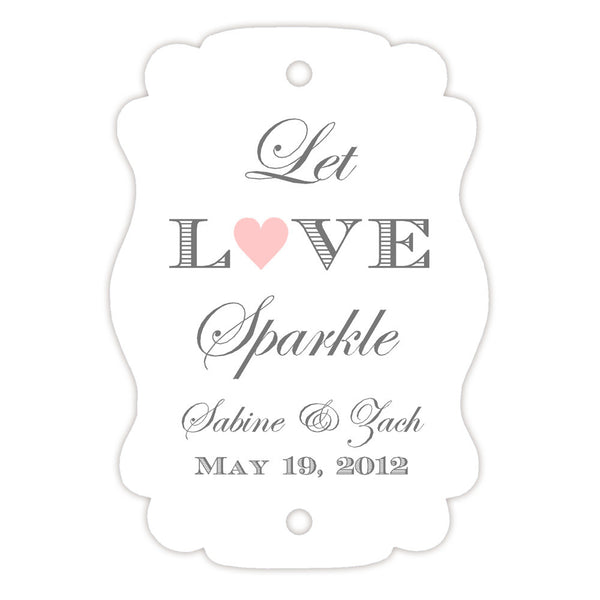 Sparkler tags - Blush - Dazzling Daisies