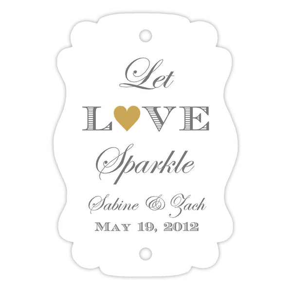 Sparkler tags - Gold - Dazzling Daisies